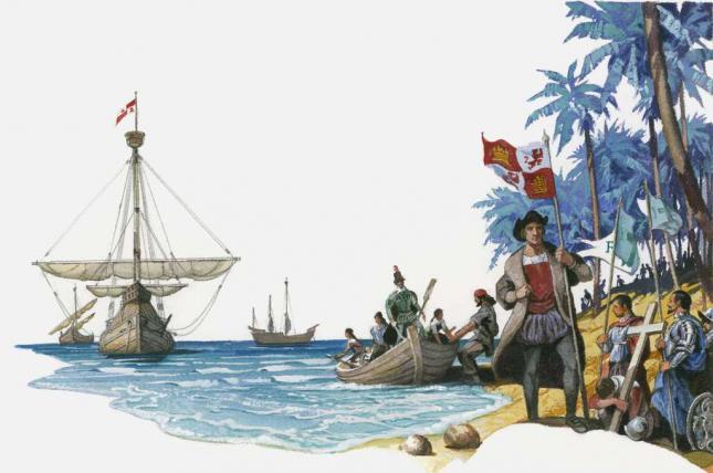 Descubrimiento-de-America-los-viajes-de-Cristobal-Colon