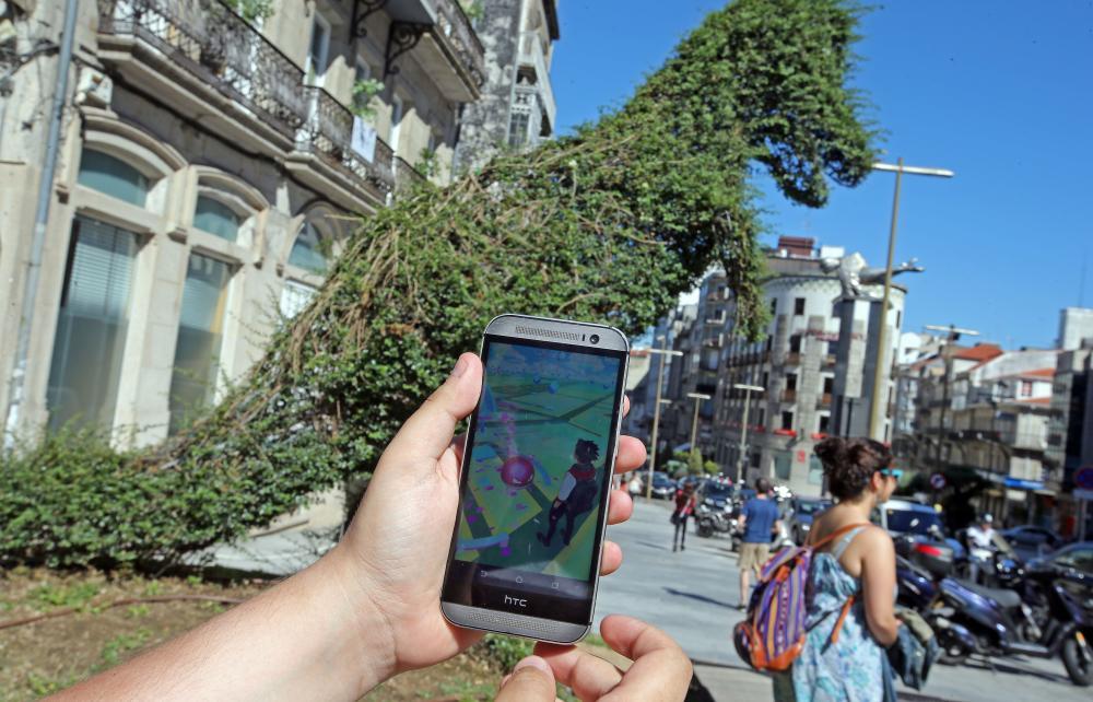A la caza de Clientes con Pokemon Go en Vigo