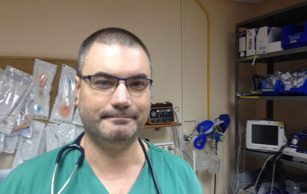 """Jesús Santiago Ruibal: """"Se está transformando el escenario de la salud"""""""