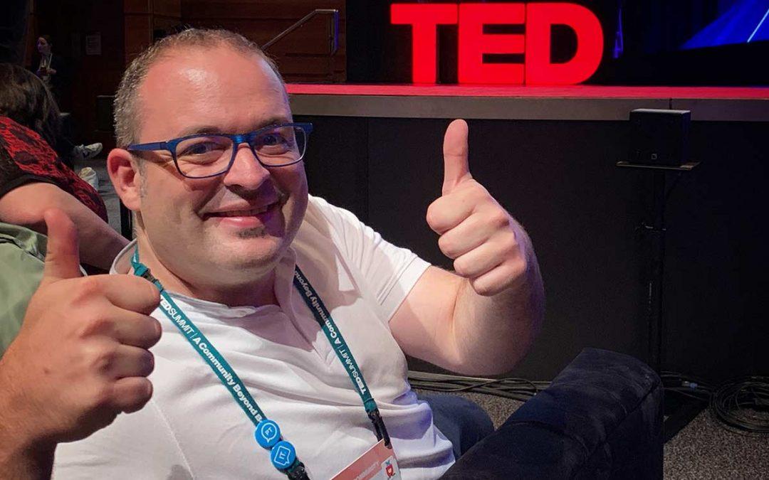 """Dani Diéguez: """"Organizamos un TEDx en Ourense porque la gente busca cosas diferentes"""""""