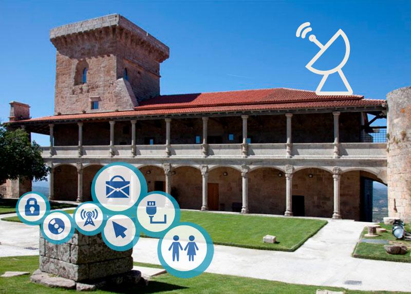 Y si el castillo de Monterrei hubiera sido tecnológico